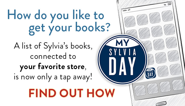 How do you like to get your books? A list of Sylvia's books, connected to your favorite store, is now only a tap away!