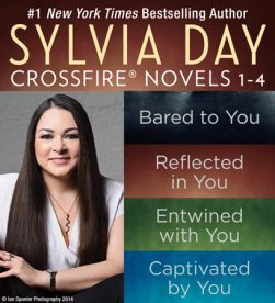 Crossfire Boxed Set 1-4 eBook Cover